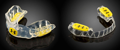 San Mateo dentist offers Under Armour mouthguards